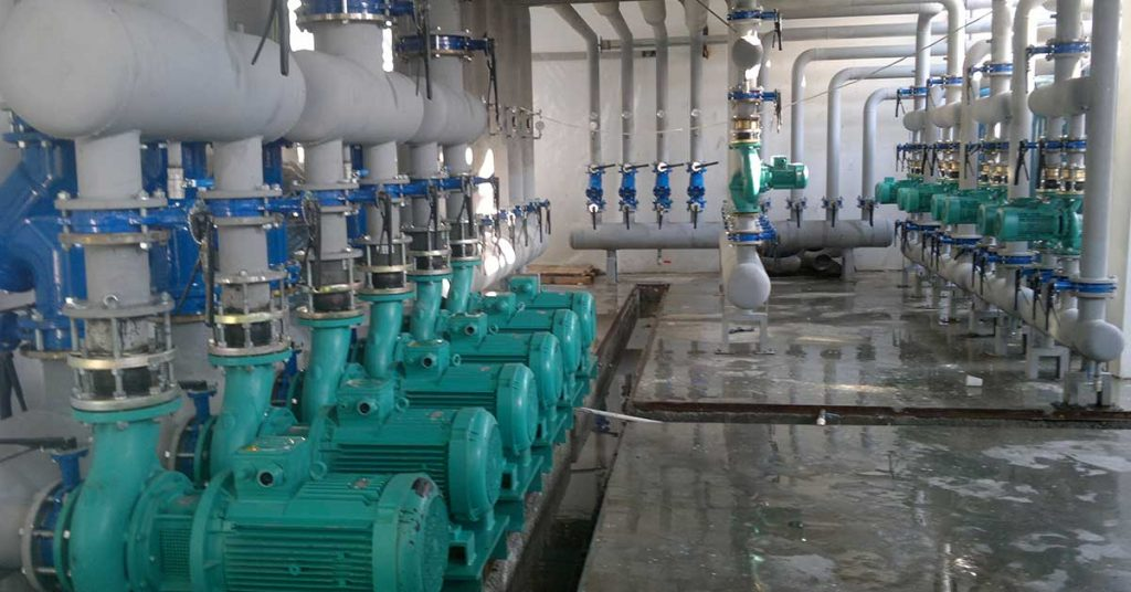 Pump variable frequency drives